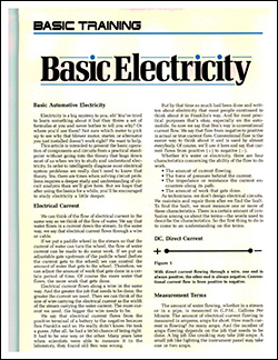 Basic Electrticity: Part One