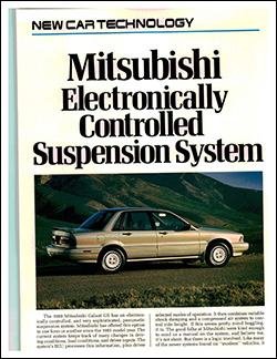 Mitsubishi Electronically Controlled Suspension System