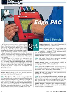 Test Bench: Edge PAC : Performance Technician