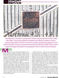 Motronic 4.3 – 4.4