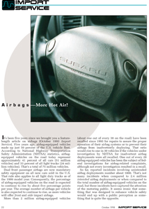 Airbags – More Hot Air?