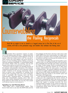 Counterwobbling the Flailing Reciprocals Part One